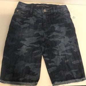 New Gap kids boys camouflage shorts